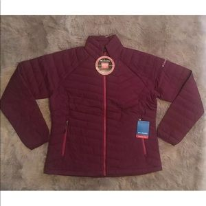 Columbia ThermalCoil Quilted Stretch Puffer Jacket